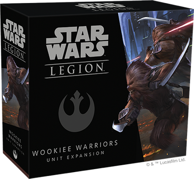 Buy Star Wars - Legion - Rebel - Wookie Warriors and more Great Tabletop Wargames Products at 401 Games