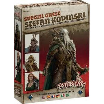 Buy Zombicide - Black Plague - Special Guest - Stefan Kopinski and more Great Board Games Products at 401 Games