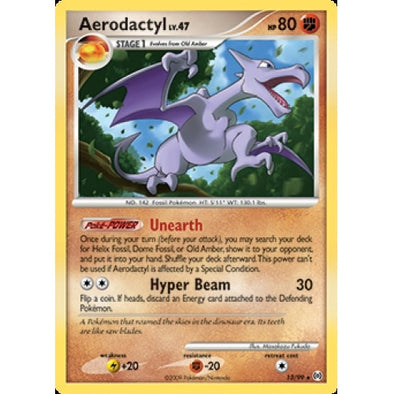 Buy Aerodactyl - 13/99 and more Great Pokemon Products at 401 Games