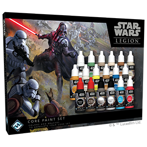 Star Wars - Legion - Core Paint Set (Pre-Order)
