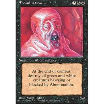 Buy Abomination and more Great Magic: The Gathering Products at 401 Games