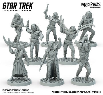 Buy Star Trek Adventures - Klingon Strike Team Miniatures and more Great RPG Products at 401 Games