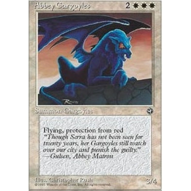 Buy Abbey Gargoyles (HML) and more Great Magic: The Gathering Products at 401 Games