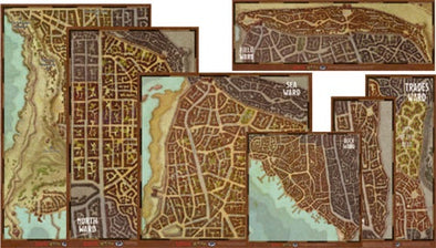 Buy Dungeons & Dragons - 5th Edition - Waterdeep Wards Map Set and more Great RPG Products at 401 Games