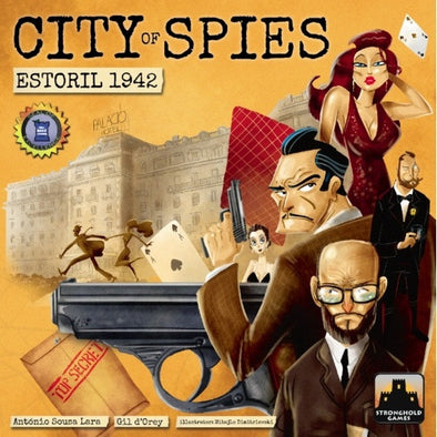 Buy City of Spies - Estoril 1942 and more Great Board Games Products at 401 Games