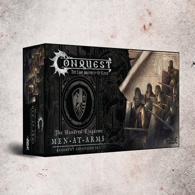 Buy Conquest - Hundred Kingdoms - Men-at-Arms (Pre-Order) and more Great Tabletop Wargames Products at 401 Games