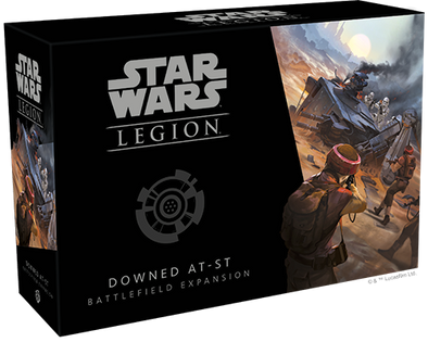 Buy Star Wars: Legion - Downed AT-ST Battlefield Expansion (Pre-Order) and more Great Tabletop Wargames Products at 401 Games