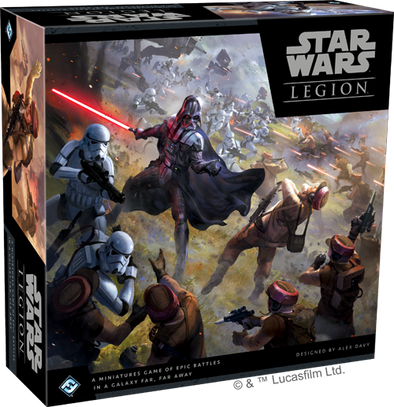 Buy Star Wars - Legion and more Great Tabletop Wargames Products at 401 Games