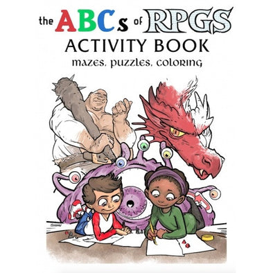 Buy The ABCs of RPGs - Activity Book and more Great RPG Products at 401 Games