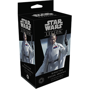 Buy Star Wars: Legion - Director Orson Krennic Commander Expansion and more Great Tabletop Wargames Products at 401 Games