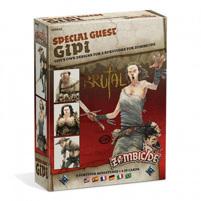 Buy Zombicide - Black Plague - Special Guest - Gipi and more Great Board Games Products at 401 Games