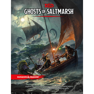 Buy Dungeons & Dragons - 5th Edition - Ghosts of Saltmarsh and more Great RPG Products at 401 Games