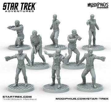 Buy Star Trek Adventures - Romulan Warband Miniatures and more Great RPG Products at 401 Games