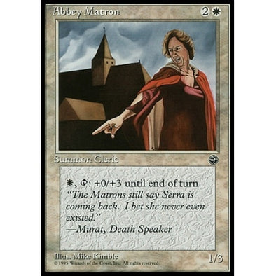Buy Abbey Matron (No Hood) (HML) and more Great Magic: The Gathering Products at 401 Games