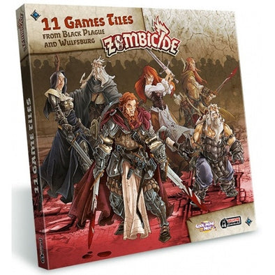Buy Zombicide - Black Plague - Extra Tiles Pack and more Great Board Games Products at 401 Games