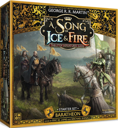 A Song of Ice and Fire - Tabletop Miniatures Game - House Baratheon Starter (Pre-Order)