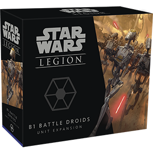 Buy Star Wars - Legion - Seperatists - B1 Battle Droids Unit Expansion (Pre-Order) and more Great Tabletop Wargames Products at 401 Games