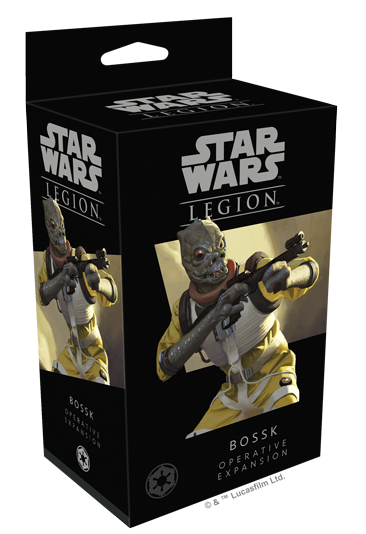 Buy Star Wars: Legion - Bossk Operative Expansion (Pre-Order) and more Great Tabletop Wargames Products at 401 Games