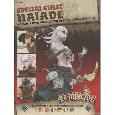 Buy Zombicide - Black Plague - Special Guest - Naiade and more Great Board Games Products at 401 Games