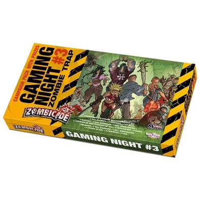 Buy Zombicide - Gaming Night #3 - Zombie Trap and more Great Board Games Products at 401 Games