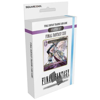 Buy Final Fantasy TCG - Opus I Final Fantasy XIII Ice and Lightning Starter Deck and more Great Final Fantasy TCG Products at 401 Games