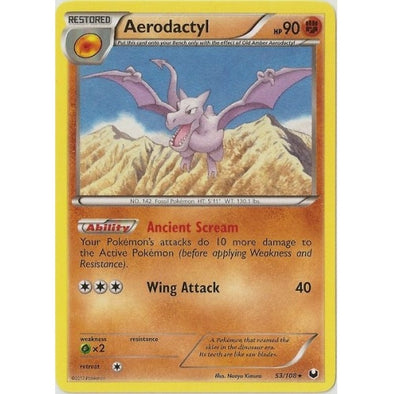 Buy Aerodactyl - 53/108 - Reverse Foil and more Great Pokemon Products at 401 Games