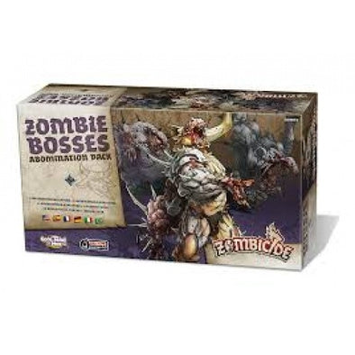 Buy Zombicide - Black Plague - Zombie Bosses Abomination Pack and more Great Board Games Products at 401 Games