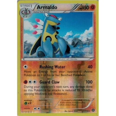 Buy Armaldo - 57/114 - Reverse Foil and more Great Pokemon Products at 401 Games