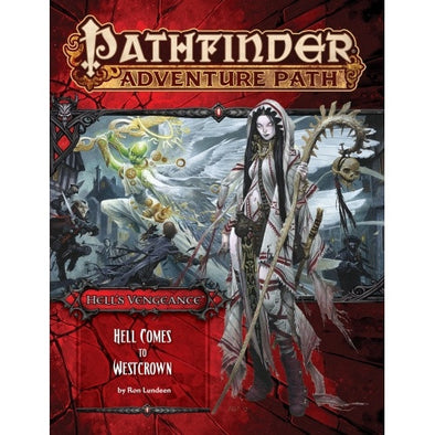 Buy Pathfinder - Adventure Path - #108: Hell Comes to Westcrown (Hell's Vengeance 6 of 6) and more Great RPG Products at 401 Games