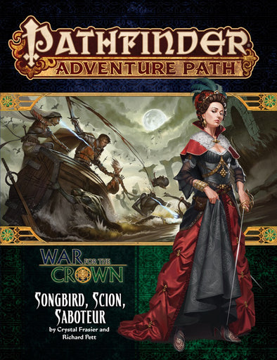 Buy Pathfinder - Adventure Path - #128: Songbird, Scion, Saboteur (War for the Crown 2 of 6) and more Great RPG Products at 401 Games