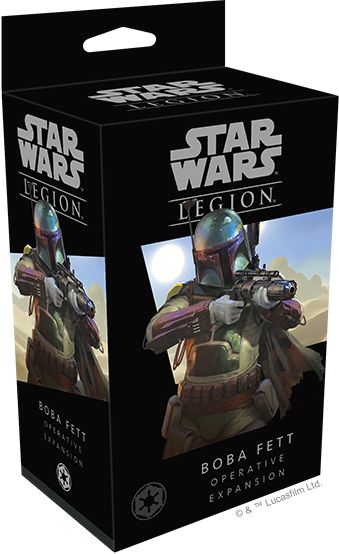 Buy Star Wars - Legion - Imperial - Boba Fett and more Great Tabletop Wargames Products at 401 Games