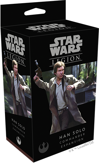 Buy Star Wars - Legion - Rebel - Han Solo and more Great Tabletop Wargames Products at 401 Games