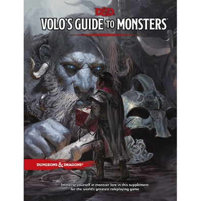 Buy Dungeons & Dragons - 5th Edition - Volo's Guide to Monsters and more Great RPG Products at 401 Games