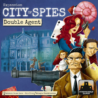 Buy City of Spies: Double Agents and more Great Board Games Products at 401 Games