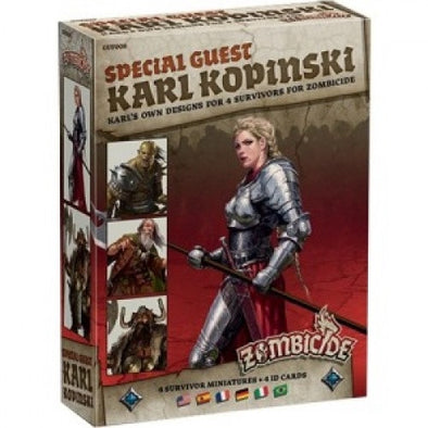 Buy Zombicide - Black Plague - Special Guest - Karl Kopinski and more Great Board Games Products at 401 Games