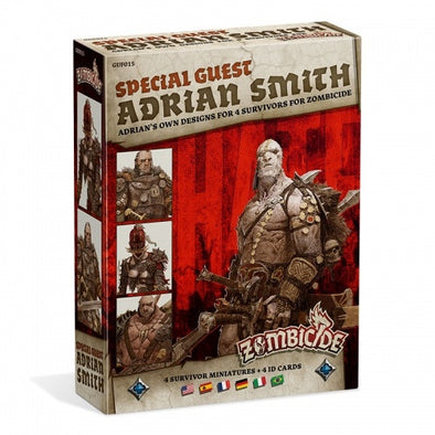Buy Zombicide - Black Plague - Special Guest - Adrian Smith and more Great Board Games Products at 401 Games