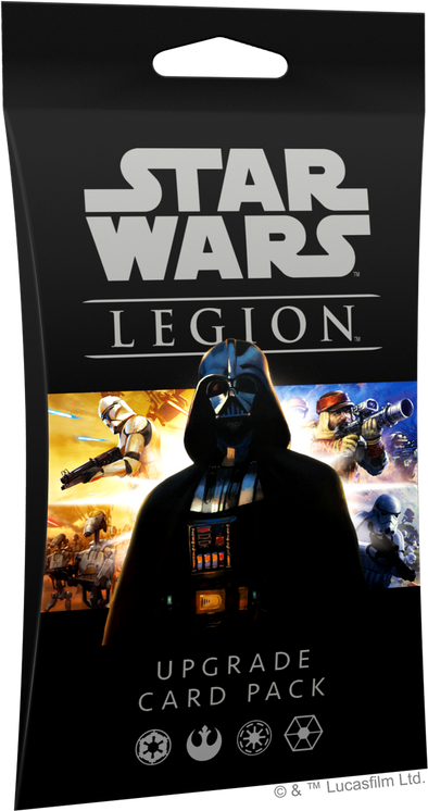 Buy Star Wars - Legion - Upgrade Card Pack (Pre-Order) and more Great Tabletop Wargames Products at 401 Games