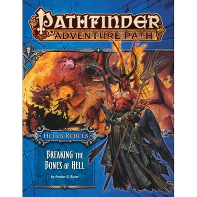 Buy Pathfinder - Adventure Path - #102: Breaking the Bones of Hell (Hell's Rebels 6 of 6) and more Great RPG Products at 401 Games