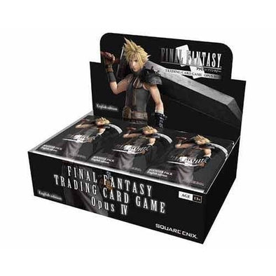 Buy Final Fantasy TCG - Opus 4 Booster Box and more Great Final Fantasy TCG Products at 401 Games