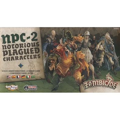 Buy Zombicide - Black Plague - NPC-2 Box - Notorious Plagued Characters and more Great Board Games Products at 401 Games