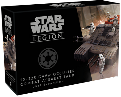 Buy Star Wars: Legion - TX-225 GAVw Occupier Combat Assault Tank Unit Expansion and more Great Tabletop Wargames Products at 401 Games