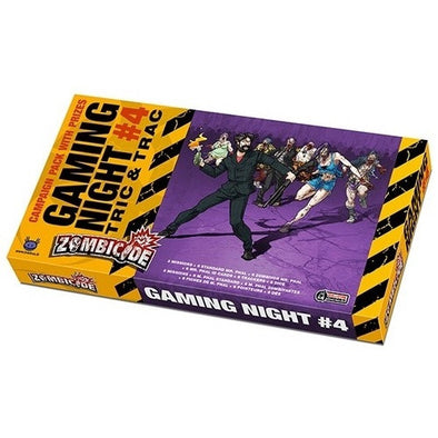 Buy Zombicide - Gaming Night #4 - Tric & Trac and more Great Board Games Products at 401 Games