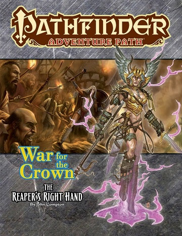 Buy Pathfinder - Adventure Path - #131: The Reaper's Right Hand (War of the Crown 5 of 6) and more Great RPG Products at 401 Games