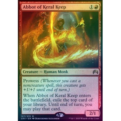 Buy Abbot of Keral Keep (Foil) and more Great Magic: The Gathering Products at 401 Games