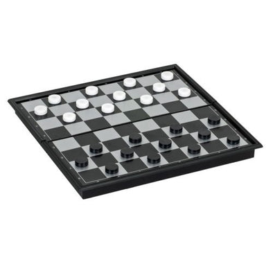 Buy Checkers - Magnetic 10 inch - Wood Expressions and more Great Board Games Products at 401 Games