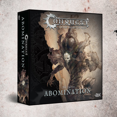 Buy Conquest - The Spires - Abomination (Pre-Order) and more Great Tabletop Wargames Products at 401 Games