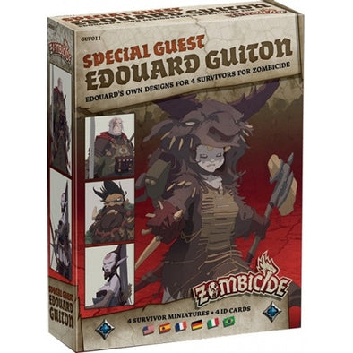 Buy Zombicide - Black Plague - Special Guest - Edouard Guiton and more Great Board Games Products at 401 Games