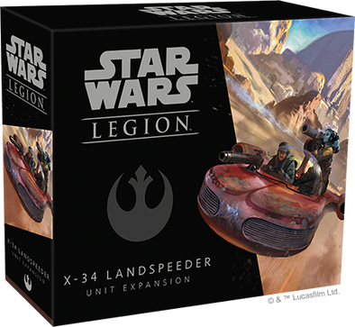 Buy Star Wars: Legion - Landspeeder X-34 Unit Expansion and more Great Tabletop Wargames Products at 401 Games