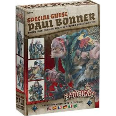 Buy Zombicide - Black Plague - Special Guest - Paul Bonner and more Great Board Games Products at 401 Games