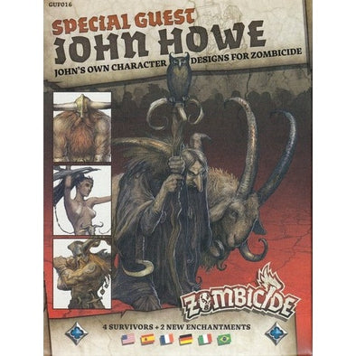 Buy Zombicide - Black Plague - Special Guest - John Howe and more Great Board Games Products at 401 Games